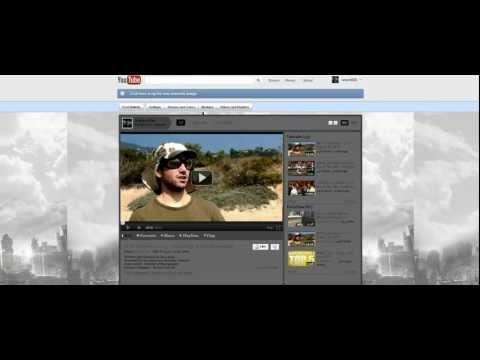 How to Change your Youtube Layout back to normal December 9th 2011