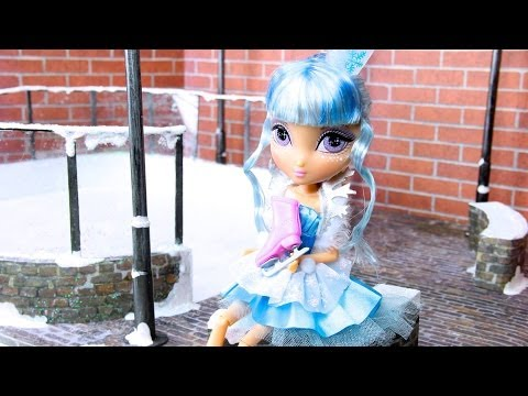 How to Make a Doll Ice Skating Rink