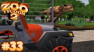 JURASSIC PARK T.REX PADDOCK | Zoo Tycoon 2 - Let's Play Part 33