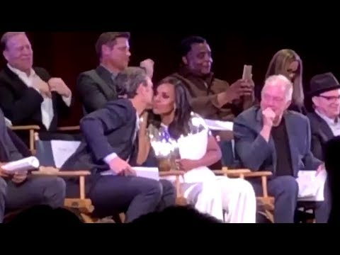 Scandal Stage / Olitz (Olivia & Fitz) 7x18 table read + Terry Moments