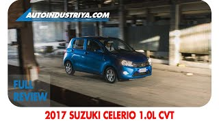 2017 Suzuki Celerio 1.0L CVT - Full Review