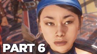 MORTAL KOMBAT 11 STORY MODE Walkthrough Gameplay Part 6 - KITANA (MK11)