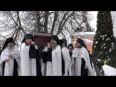 Отпевание и погребение наместника Оптиной пустыни архим. Венедикта (Пенькова)