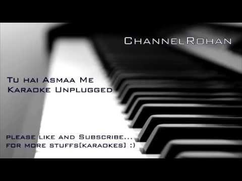 Tu Aashiqui Hai Karaoke|track Unplugged By Rohan video