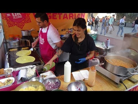 HORN OK PLEASE: Yummy Samosa Chaat, Mung Dal Masala Dosas & Bhel Puri - Indian Street Food in London