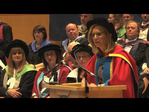 Kerry Kennedy at Glasgow Caledonian University