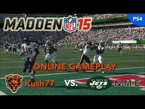 Thumbnail image for ''Madden NFL 15' Online Gameplay Video: Chicago Bears vs. New York Jets'
