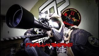 Magfed paintball - finally sniping - Hotel Ghost Atibaia