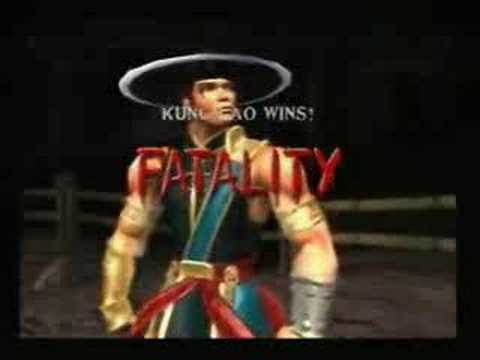 Mortal Kombat Deadly Alliance Fatality Demonstration
