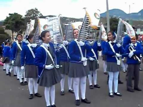 20 De Julio Presentacion De La Banda Marcial Del Colegio Alfredo Iriarte