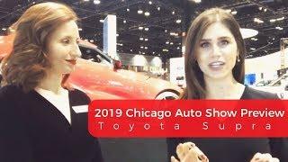 Oak Lawn Toyota Previews the 2019 Chicago Auto Show's Toyota Supra