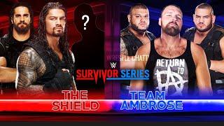Team Ambrose Vs The Shield FIGHT At Survivor Series 2018 ? WWE Survivor Series 2018 Match Card !