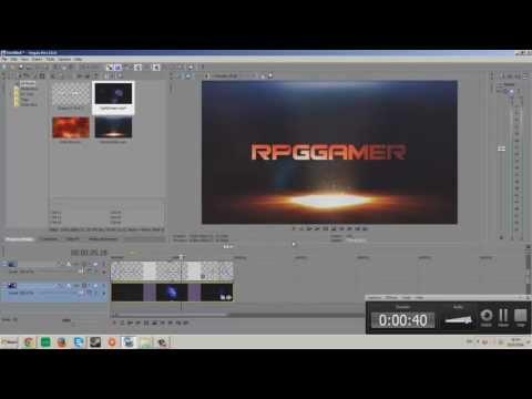 [ProgramerTips]:สอนทำ Intro ง่ายๆ   ตัวอักษร   Sony Vegas Pro