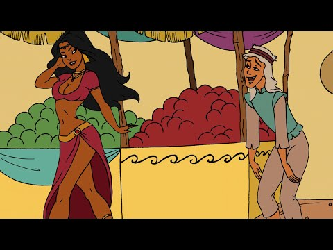 FAIRY TALE FRIDAY - ALADDIN