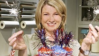 Patriotic Decorations for Cupcakes - Memorial Day - Martha Stewart