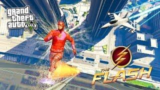 GTA 5 PC Mods - THE FLASH MOD w/ SUPER SPEED #2! GTA 5 The Flash Mod Gameplay! (GTA 5 Mods Gameplay)