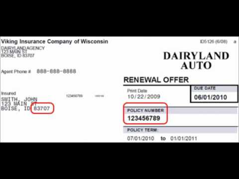 Dairyland Auto Insurance Pay Online