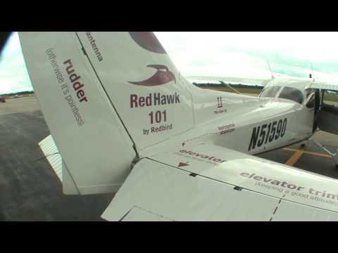 Redbird's New Redhawk Diesel 172