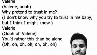 The Weeknd Video - The Weeknd- Valerie Lyrics