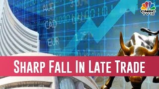 Nifty Closes At 10,830, Down Almost 100 Points While Sensex Slides 330 Points