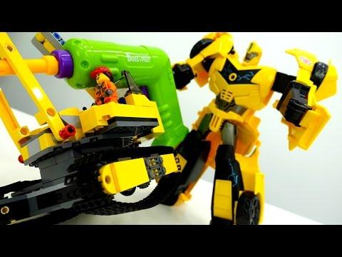 #Трансформеры: Автоботы против Мегатрона. Секрет Бамблби! Видео для мальчиков
