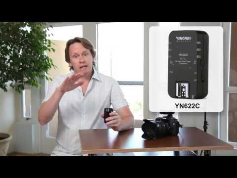 Yongnuo YN622C TTL Flash Trigger Review and Test