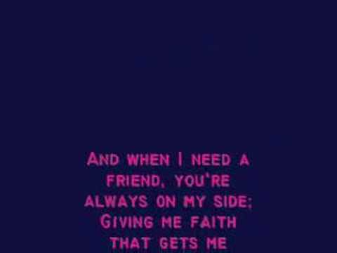 I Turn to You- Christina Aguilera w/ lyrics