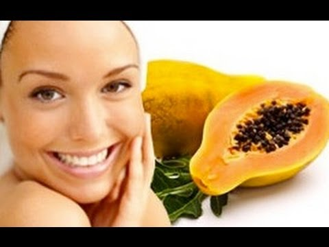 At Home Papaya Mask For Acne! Natural, Easy, Inexpensive, DIY Facial Recipe For Clear Skin!
