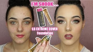 DERMACOL EXTREME COVER FOUNDATION | IT WILL CLEANSE YOUR SOUL ITS SO LIT