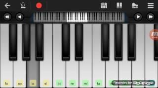Not Piano - D`Masiv Cinta Ini Membunuhku  Walk Band Tutorial  Tutorial Piano