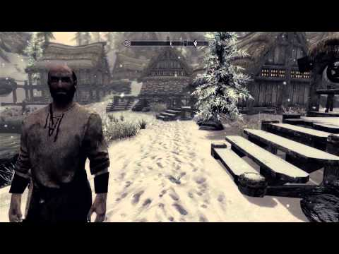 Skyrim with custom high res texture packs & fxaa injector (no dlc)