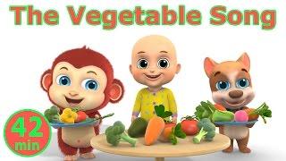 The Vegetable Song | Kindergarten Education Learning for Kids | Parenting Resources from Jugnu Kids