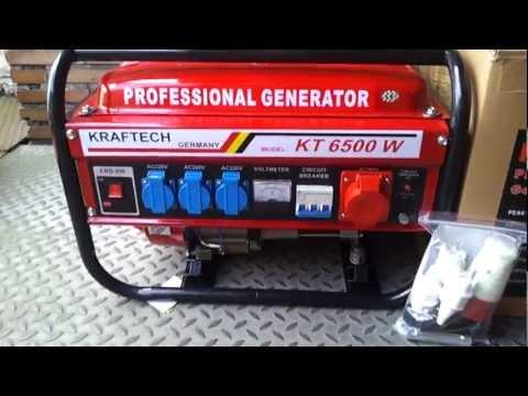Generator kraftech kt6500