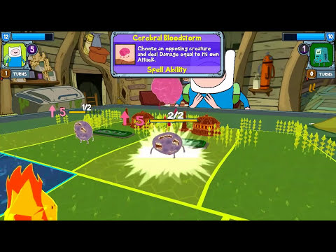 Card Wars: Adventure Time - VS Beemo - Future Scholar Episode 2 Gameplay Walkthrough Android iOS App