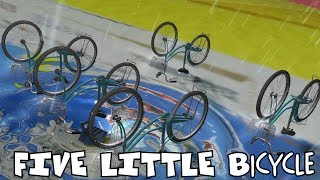 Five Little Bicycle |Nursery Rhymes for Kids | Preschool Songs |kids song |