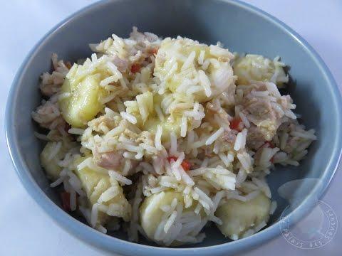 Recette de salade à l'Antillaise