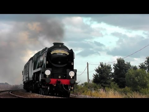 SR 34046 Braunton's first run on the Torbay Express 18/08/13