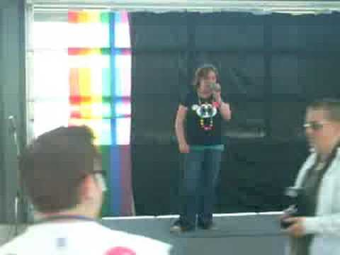 Bellingham,wa Pride Sarah Singing. me Singing at bellinghams gay pride
