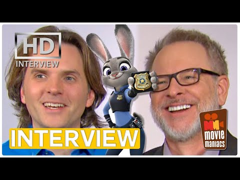 Zootopia - Animals & Humans   Exclusive Interview With Byron Howard & Rich Moore (2016)