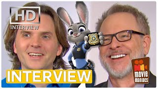 Zootopia - Animals & Humans | Exclusive Interview With Byron Howard & Rich Moore (2016)