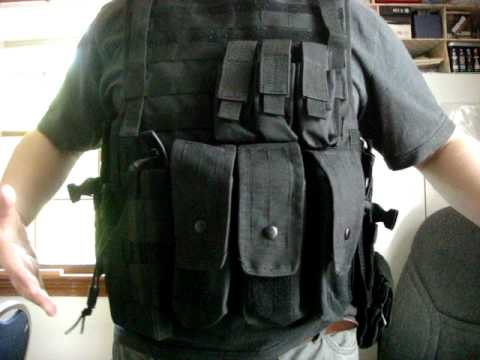Condor Outdoor Full Armor Plate Carrier Vest Review (NOT AIRSOFT)