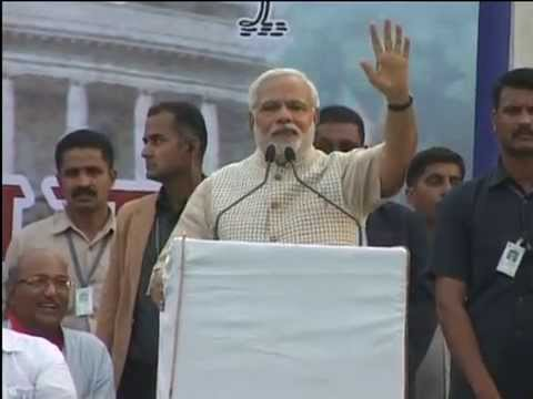 Shri Narendra Modi speech in Vadodara, Gujarat after historical victory in Lok Sabha Election 2014