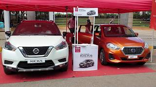 2019 Datsun Go Facelift and Nissan kicks Top Model in Outdoor Exterior and Interior