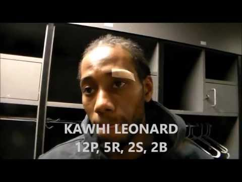 San Antonio Spurs - Los Angeles Lakers: Kawhi Leonard Interview