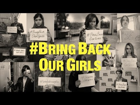 #BringBackOurGirls : Celebrities Join The Campaign