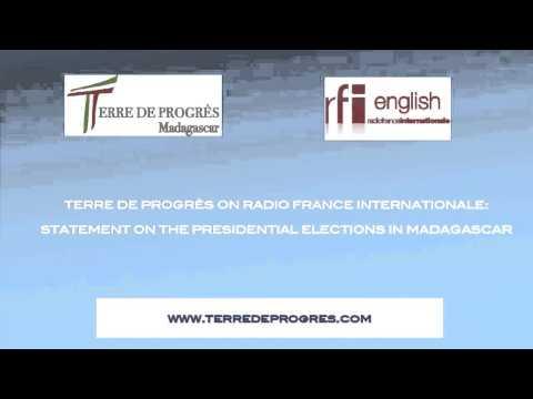 Presidential elections in Madagascar: Mano Rakotomahanina on Radio France Internationale