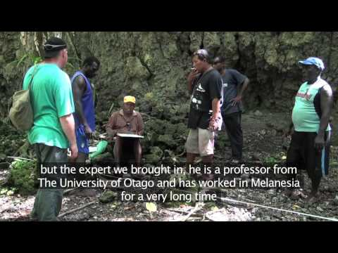 Community Mapping of Cultural Heritage in the Solomon Islands