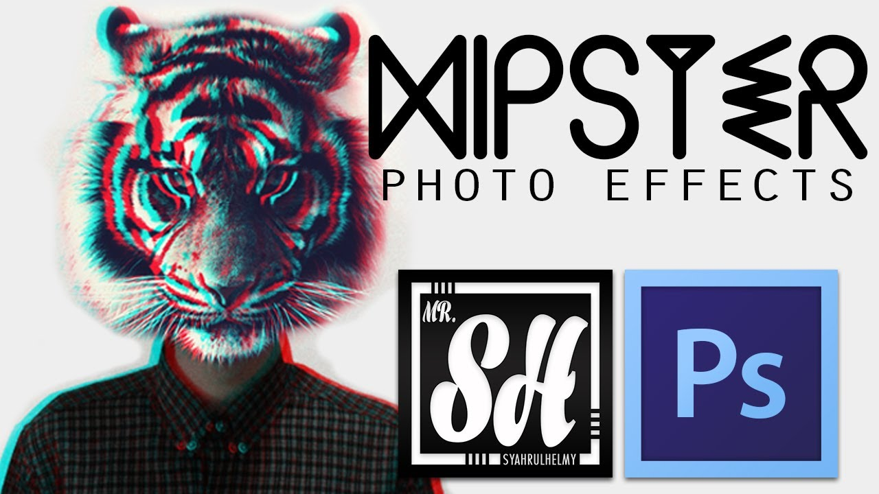 photoshop tutorial hipster looks photo effects youtube