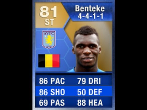 FIFA 13 TOTS BENTEKE 81 Review & In Game Stats Ultimate Team