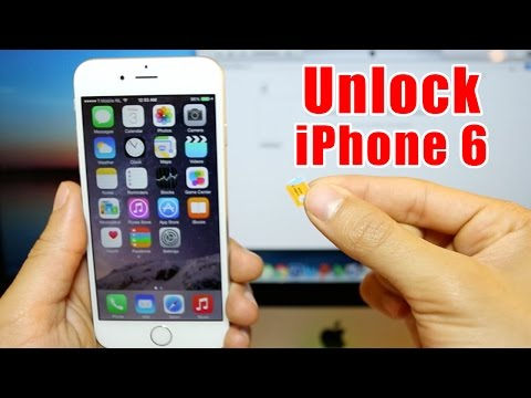 How To Unlock Iphone 6 on any iOS - AT&T. T-mobile. Rogers. Vodafone. Orange. etc.
